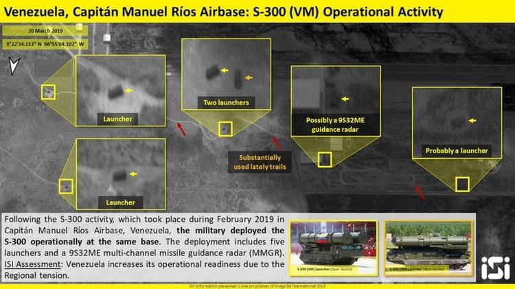 La dictadura chavista lista para la guerra: Despliega una batería de misiles rusos en Caracas