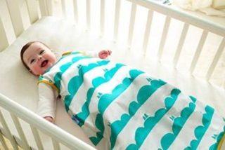 Beneficios del saco de dormir para bebés