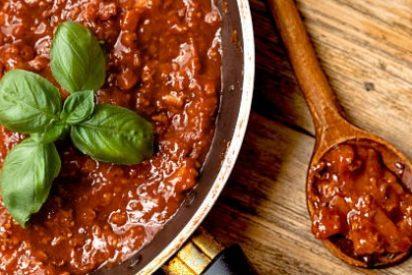 Salsa boloñesa, receta original
