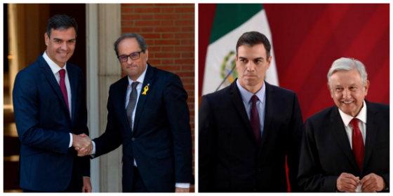 Sánchez es un peligro: primero esconde los 21 puntos de Torra y ahora la carta majadera de Obrador