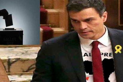 España: El centro-derecha baja y el pacto 'Frankenstein' de Sánchez con independentistas y proetarras hace mayoría