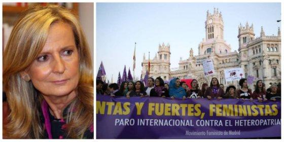 """El contundente mensaje de Isabel San Sebastián contra el 8-M: """"No nos tomen por imbéciles, no somos muñecas manipulables"""""""