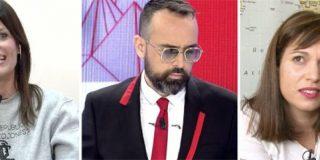 """Una imponente Cristina Seguí entra en tromba en TV a por Beatriz Talegón llamándole """"gentuza"""" y dejando a Risto KO"""