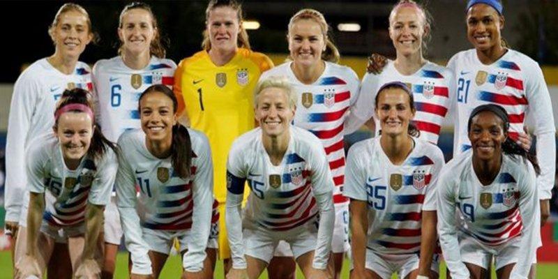 La selección femenina de EE.UU. presenta una demanda por ganar menos que la masculina