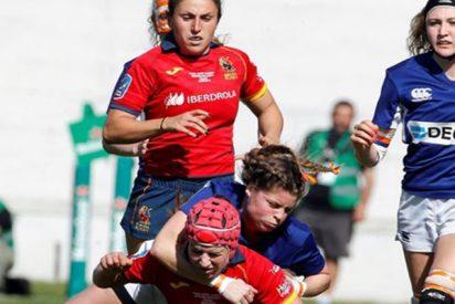 La selección española femenina de rugby se proclama campeona de Europa