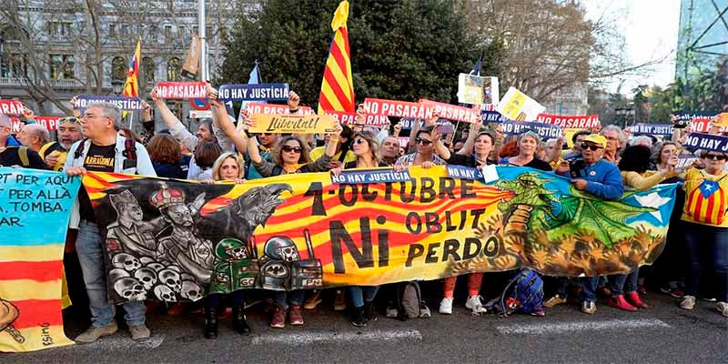 Indepes en Madrid: Estéril jaimitada para interferir en el juicio del 1-O