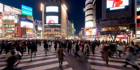 Shibuya, el cruce más fotografiado de Japón