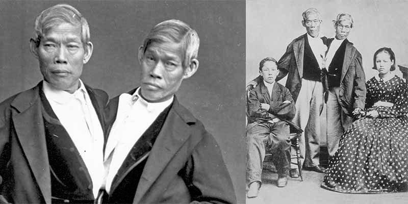 La asombrosa historia de Chang y Eng Bunker, los hermanos siameses 'originales' que vendieron como esclavos y tuvieron 21 hijos