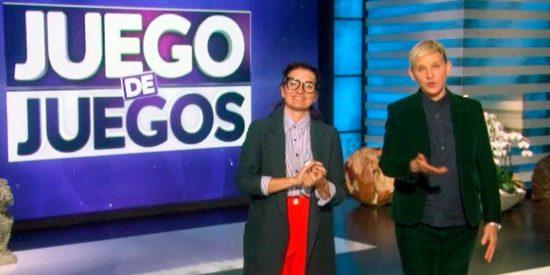 Ellen DeGeneres y Silvia Abril, por fin juntas en el programa de la estadounidense (VÍDEO)