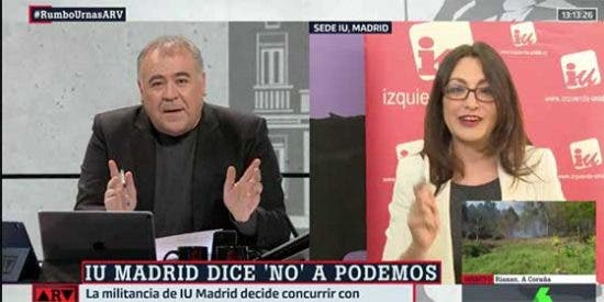 """La izquierda se deshilacha de tal manera en Madrid que hasta Ferreras confiesa que es incapaz de comprender tanta escisión: """"No entiendo nada"""""""