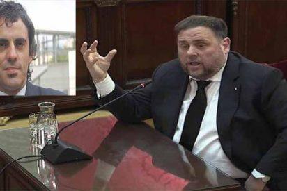 """Un ayudante de Oriol Junqueras se reunió con Unipost para destruir pruebas: """"Urgente, borrar cámara"""""""