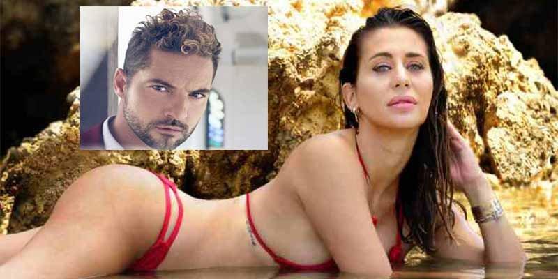 Elena Tablada asegura sarcástica que no ha recibido la demanda de David Bisbal y le pide que se calme
