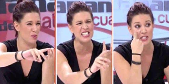 Beatriz Talegón se cansa del prófugo golpista Carles Puigdemont y ya se vende al mejor postor