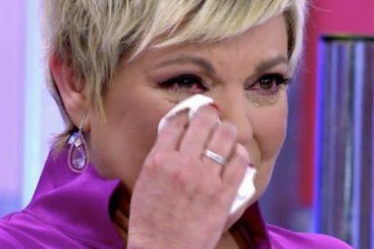 "Terelu Campos, rota de dolor, en directo: ""¿Quién va quererme así?"""