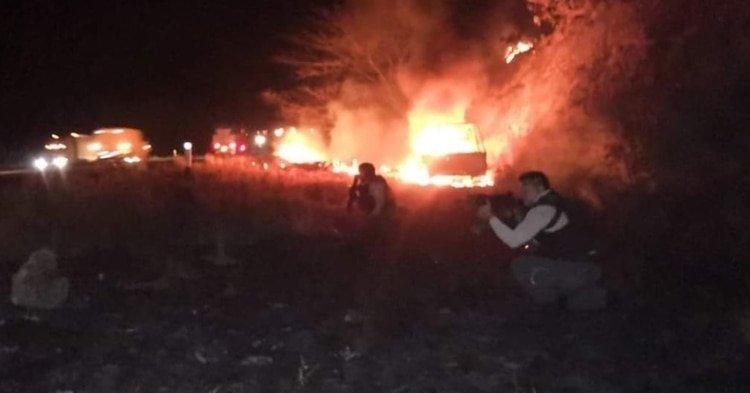 Guerra en Veracruz: Narcos y policías se enfrentan por horas dejando 5 muertos