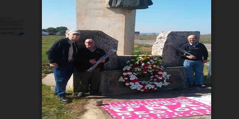 BATALLA DE TORO-PELEAGONZALO {1476-2019} Alocución y ofrenda ante el monumento