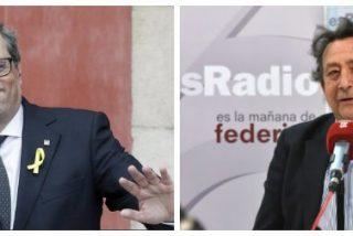 """Alfonso Ussía pierde definitivamente la paciencia con Quim Torra: """"Mamarracho, paleto, imbécil..."""""""