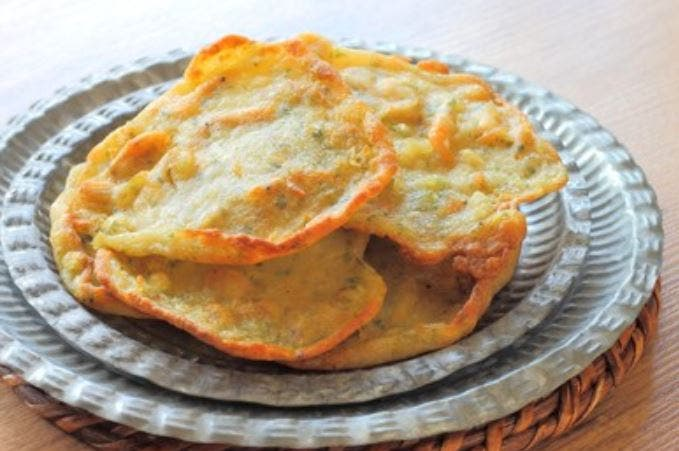 Tortillitas de camarones paso a paso🍤