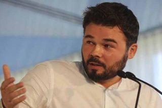 ¡Qué le pongan las orejas de asno! Gabriel Rufián comete un brutal patinazo sobre la Historia de España y un tuitero le aplica el desfibrilador de tontos