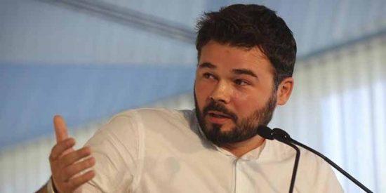 Rufián desvela el pacto secreto que quieren Florentino Pérez y Ana Botín
