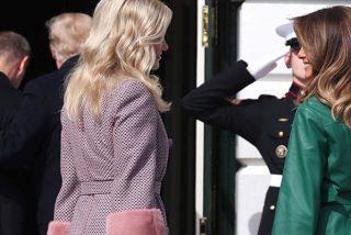 Trump se olvida de Melania durante el recibimiento del primer ministro checo y su esposa