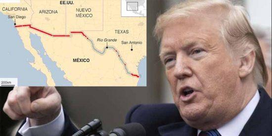"""Donald Trump amenaza con cerrar la frontera con México: """"La próxima semana"""""""