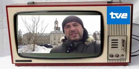 La TVE soviética usa el vídeo de un doctorado en EEUU para llamar 'mequetrefe' a Pablo Casado