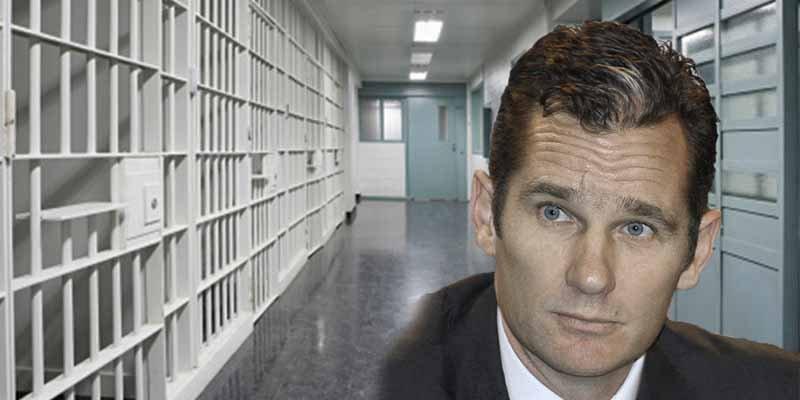 Iñaki Urdangarín vuelve a prisión tras 4 días de permiso penitenciario