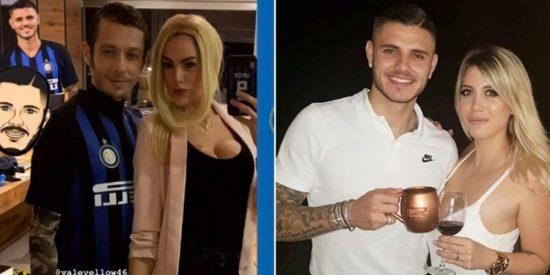 Éste importante deportista y su pareja se disfrazaron de Mauro Icardi y Wanda Nara