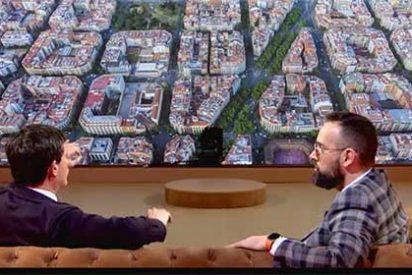 Mejide se vanagloria de haber conseguido demostrar que Manuel Valls no tiene ni idea de cuántas líneas de metro hay en Barcelona pero él tampoco lo sabe