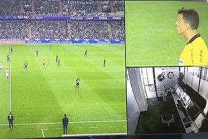Cachondeo antológico por lo que se ha visto en la sala del VAR durante el Valladolid-Real Madrid