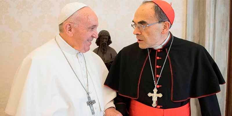 El Papa Francisco rechaza la dimisión del cardenal Barbarin, condenado por ocultar a un pederasta