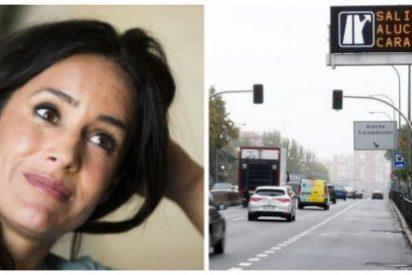 El vídeo que pone roja a la desmemoriada Begoña Villacís a cuenta de los semáforos de la A-5