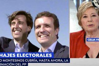 """El resquemor de Celia Villalobos con Pablo Casado por los fichajes estrella como el de su sucesor Montesinos: """"¡Cuidado!"""""""