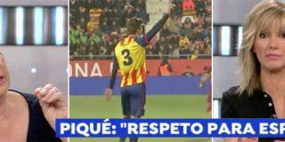 Griso saca pecho con el gesto de Piqué y Villalobos le borra la sonrisa fanfarrona de un golpe seco