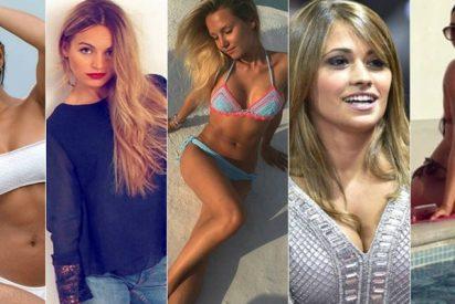 WAGs: Las 18 novias más guapas de las estrellas del fútbol
