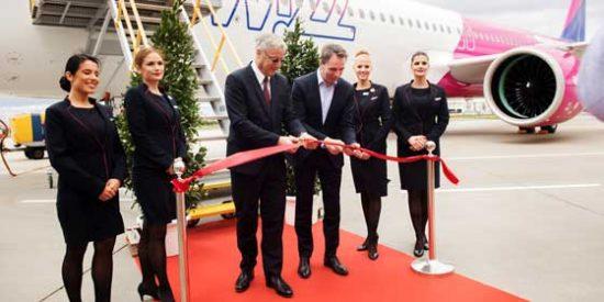 Wizz Air recibe su primer Airbus A321neo