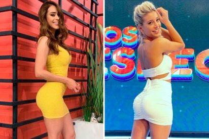 """La mexicana Yanet García y argentina Sol Pérez compiten por el título de """"la chica del clima más sexy"""""""