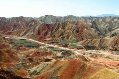 Lugares maravillosos: Las montañas de colores de Zhangye Danxia