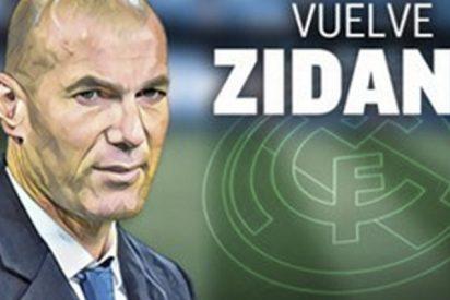 Todo el mundo ha hecho la misma broma con el regreso de Zidane