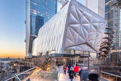 THE SHED, el nuevo y vanguardista edificio cultural de NY que va 'sobre ruedas'