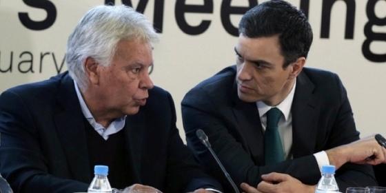 """Felipe González entierra a Ábalos y se desmarca de Sánchez: """"Delcy no debería haber pasado por España"""""""
