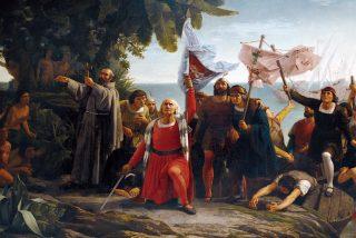 Cristobal Colón y el descubrimiento de América el 12 de octubre de 1492