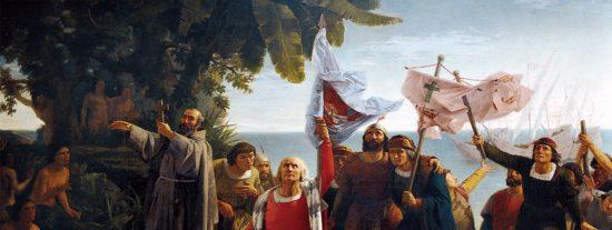El descubrimiento de América el 12 de octubre de 1492, el primer viaje de Colón a las Indias