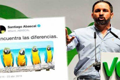 Abascal intervino en el debate a través de Twitter y VOX reta a TVE con un pronóstico