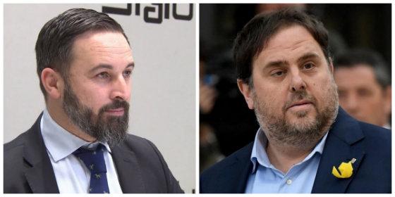 La Junta Electoral nos deja bizcos: echa a Vox del debate mientras permite a Junqueras dar una rueda de prensa