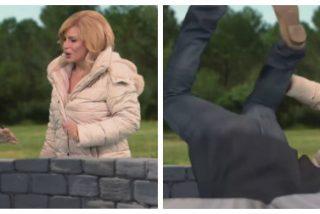 El vómito de la golpista TV3 con un gag en el que Griso empuja a Abascal al pozo del niño Julen