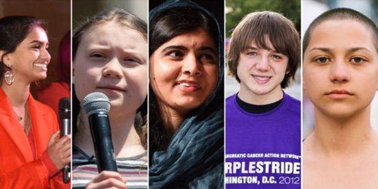 Estos son los 5 adolescentes que están cambiando el mundo