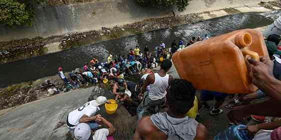 El descaro de Maduro: pidió a los venezolanos resolver por su cuenta la escasez de agua