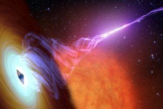 La teoría que permitirá extraer energía de los agujeros negros